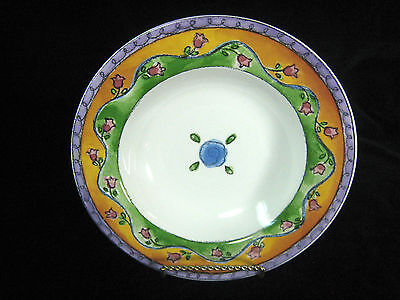 Sango Sweet Shoppe Rimmed Soup Cereal Salad Bowl Key Lime Pie 3024 Sue Zipkin