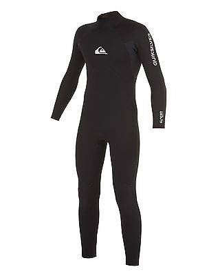NEW QUIKSILVER™  Boys 2-16 Syncro Base 4/3MM GBS Steamer Wetsuit Boys Teens Ski