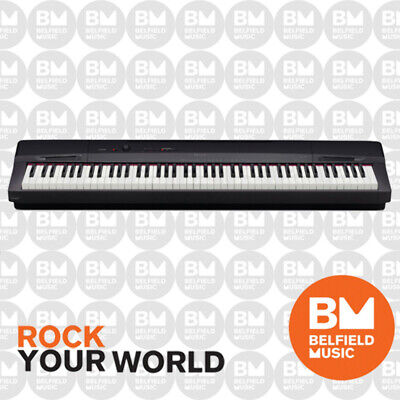 Casio PX160 Black Digital Electronic Piano PX160BK Weighted 88 Keys PX-160 - BM