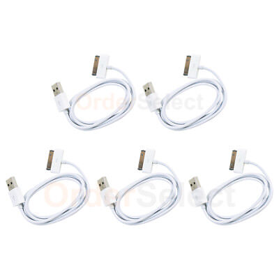 5 NEW HOT! USB Cable for Apple iPod Touch 1 2 3 4 1st 2nd 3rd 4th Gen 50+SOLD