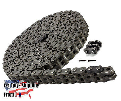 BL634 Leaf Chain 10 Feet For Forklift masts, Lifts, Hoisting 2 Connecting Link