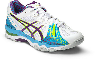 Asics Gel Netburner Super 5 Womens Netball Shoe (B) (0175) | SAVE $$$