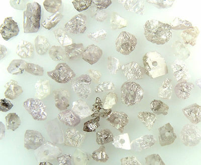 Natural Loose Diamond Rough Bead Pink Color I3 Clarity 1.50 to 2.00MM 25 Pcs Q79