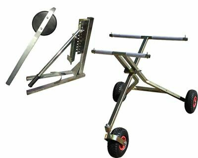3 Wheel Scissor Go Kart Trolley, Tyre Removal Tool, Bead Breaker UK KART STORE
