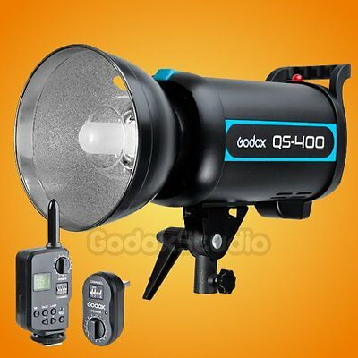 Godox QS-400 400W 400Ws Studio Lighting Flash Strobe Light Lamp w/ FT-16 Trigger