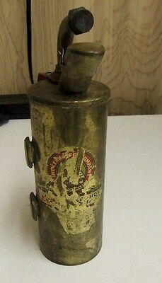 1950's Antique Vintage Lenk MFG Company Brass Alcohol Torch