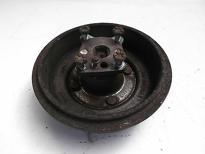 Ford Fiesta MK6 2002 - 2008 Rear Brake Drum with Stub Axle - ABS
