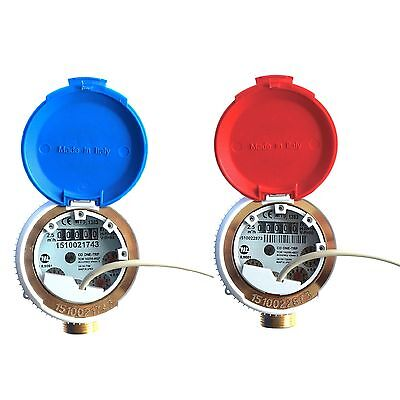 FERRO SMART WATER METER WITH REED SWITCH PULSE EMITTER  2.5m3/h ANTIMAGNETIC