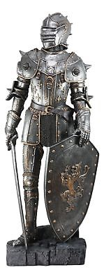 "Large Medieval Knight Elite Royal Guardian Decorative Figurine Statue 29"" Height"
