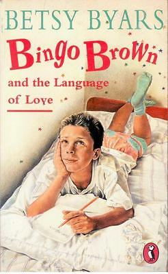 Bingo Brown and the Language of Love by Betsy Byars - Paperback - S/Hand