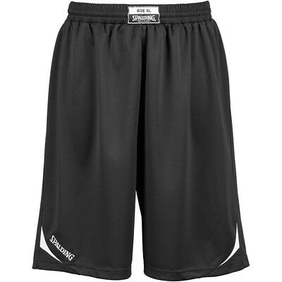 Spalding Attack Shorts Basketballhose Basketball Short Hose schwarz