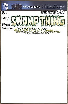 Swamp Thing #14 - NM - Sketchable Cover - New 52