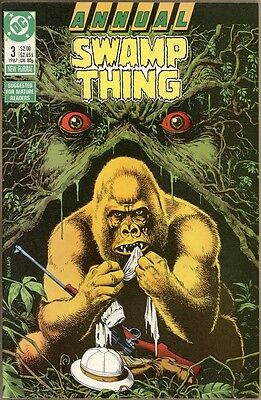 Swamp Thing Annual #3 - VF