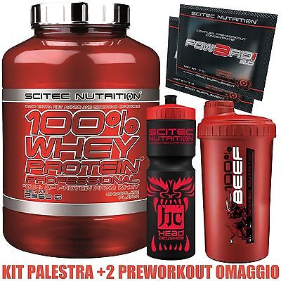 Scitec Nutrion Whey Professional 2350g - Proteine del siero isolate concentrate