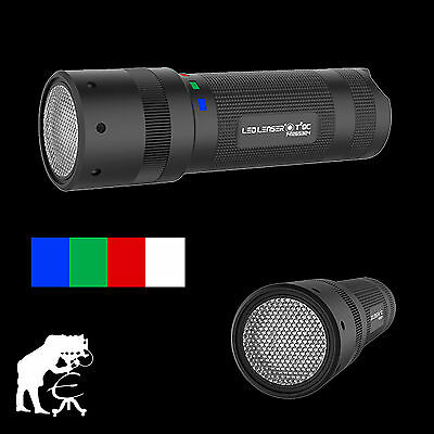 LED LENSER® T² QC T2 QC LED Taschenlampe 9802 - QC Multicolor Lightpainting