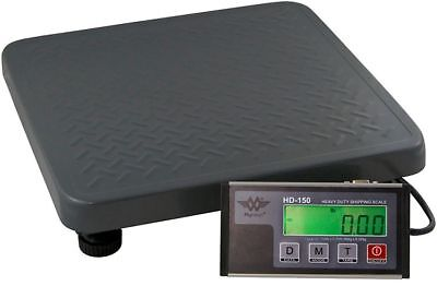 MyWeigh HD150 Paketwaage - 60kg x 0,02kg - Plattformwaage Versandwaage digital
