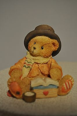 Cherished Teddies - Bear Cratchit - 617326 - Very Merry Christmas to Mr Scrooge