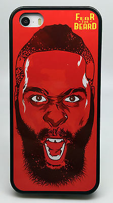 5ece2ff62784 James Harden Houston Rockets Phone Case Cover For Iphone X 8 Plus 7 6S 6  Plus