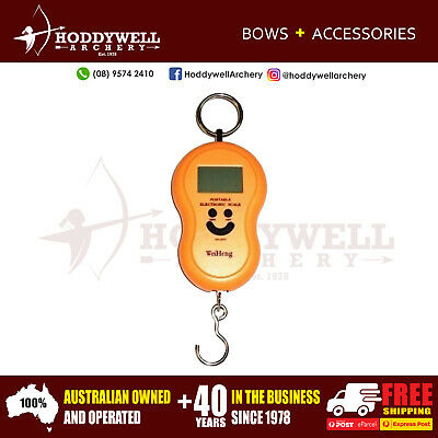 100 Lb Digital Electronic Bow Scale For Archery Compound Recurve Express Post