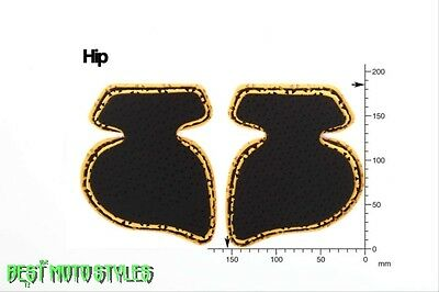 FORCEFIELD HIP retrofit protectors Set for Trousers Motorcycle Motorbike Scooter