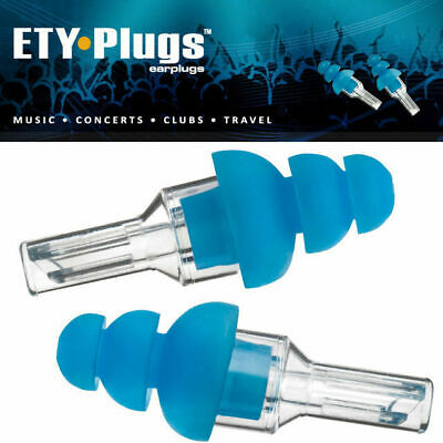 Etymotic ETY ER20 Ear Plug Hearing Protection Standard Blue Tip