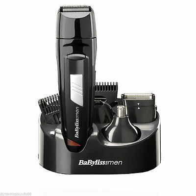 BaByliss 8 in 1 Stylish Grooming,Trimming  Kit For Face & Body