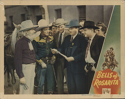 Bells of Rosarita 1945 Original Movie Poster Western