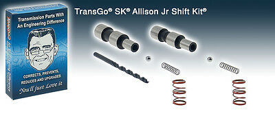 Transgo Shift Kit Allison Jr Transmission 2005-2010 Duramax Allison 6 Speed
