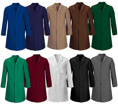 New Mens Lab Stud Coat,  Laboratory , Warehouse, Medical, Doctor, Food Hygiene