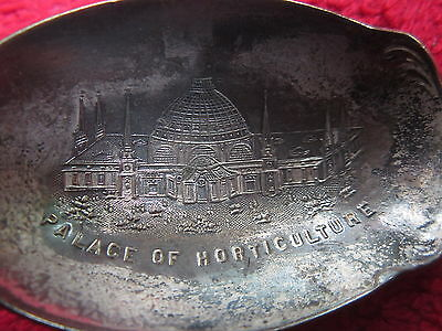 Vintage 1915 Panama Pacific Exposition Palace Of Horticulture Souvenir Spoon