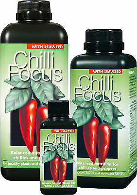 Chilli Focus - Liquid Nutrient Feed For Chillies And Peppers