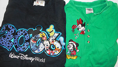 Disney LOT of 2 Men Small Shirts (LOT 1199)