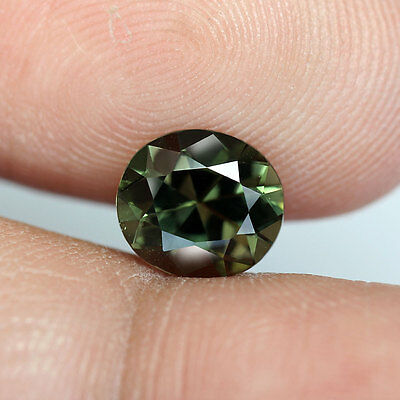 1.76 cts_Fine Oval Cut_Natural_Rare African_Bottle Green_Kornerupine_BC1148