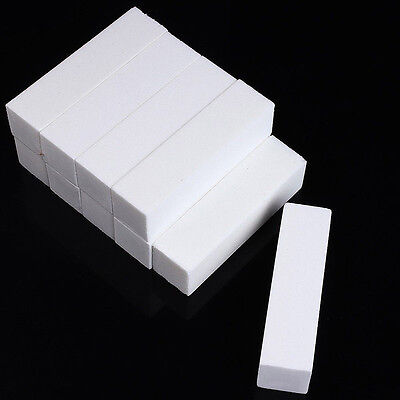 10PC Buffing Buffer Block Files Acrylic Pedicure Sanding Manicure Nail Art Tips