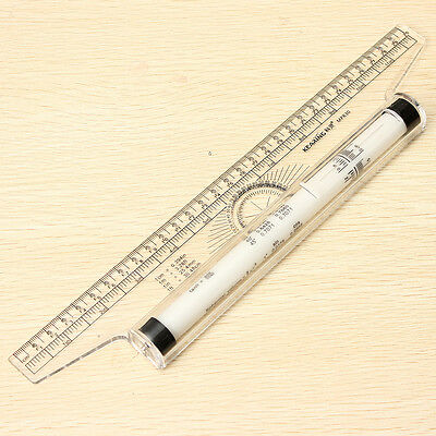 Multi-purpose Clear Rolling Parallel Ruler For Art Architect Design Interior New
