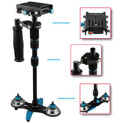S-450 Hand Held Steadycam Stabilizer w Quick Release Canon Nikon Sony DSLR