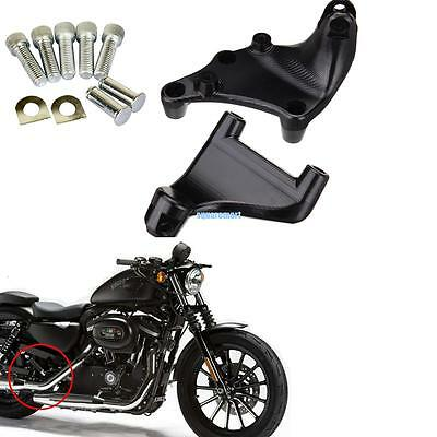 Support Repose Pieds Siège Arrière Passager Pour Harley Sportster 883 1200 2014