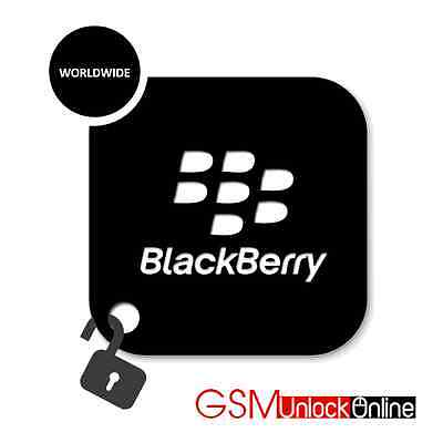 Unlock Code Service For Blackberry Bold Torch Curve 8300 8310 8320 8520