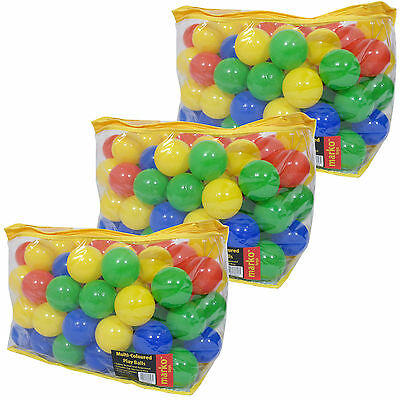 Kids Childrens Plastic Multi Coloured Soft Play Balls Ball Pits Pens Tents Pools