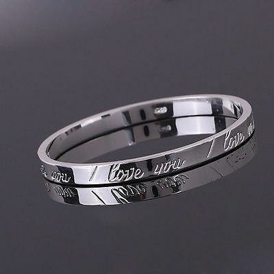 Xmas Gift SILVER Women's Jewellery Bracelet/Bangle Lady 925 plated with gift bag