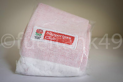 England Rugby Pink Scarf