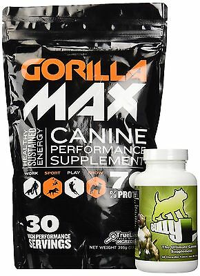 Bully Max/Gorilla Max Dog Muscle Supplement (Bully Max & Gorilla Max Combo)  NEW