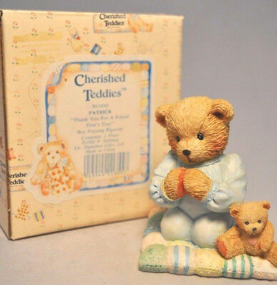 Cherished Teddies - Thank You For A Friend That's True - Patrick - 911410