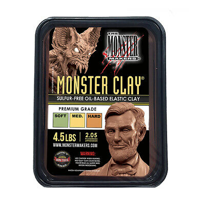 Monster Maker Clay Premium Grade - 2.27kg (5lbs)