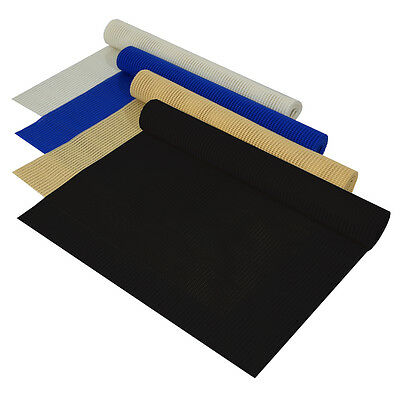 Non Slip Grip Mat Rolls Dash Drawer Liner Table Placemat Car Home Work - 3 Sizes