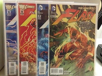 The Flash Variant Lot #'S 3, 5, 7 & 9 Free Shipping