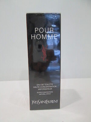 """"""" YSL pour Homme """" PROFUMO UOMO EDT o AFTER SHAVE 50/60/75/100ml -Vintage"""