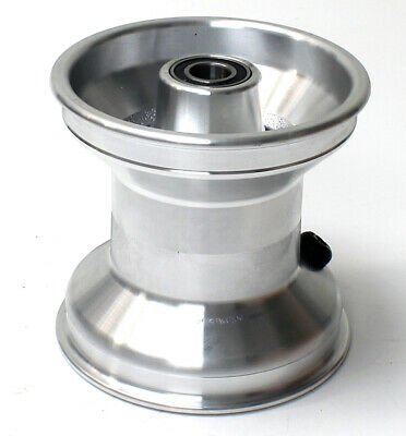 Jet Wheel Front Silver 120mm  x 1 UK KART STORE