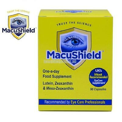 Macushield Eye Supplement 90 Capsules 3 Months Supply
