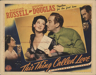 This Thing Called Love 1940 Original Movie Poster Comedy
